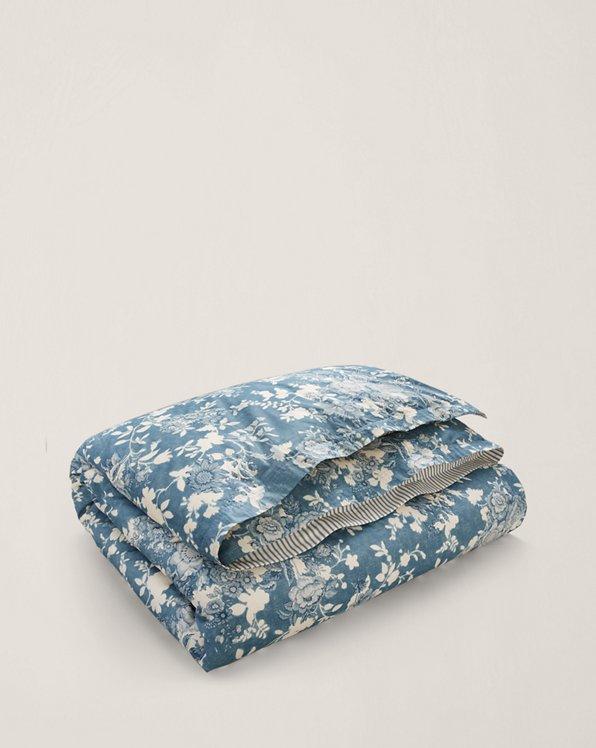 Indigo Cottage Percale Comforter