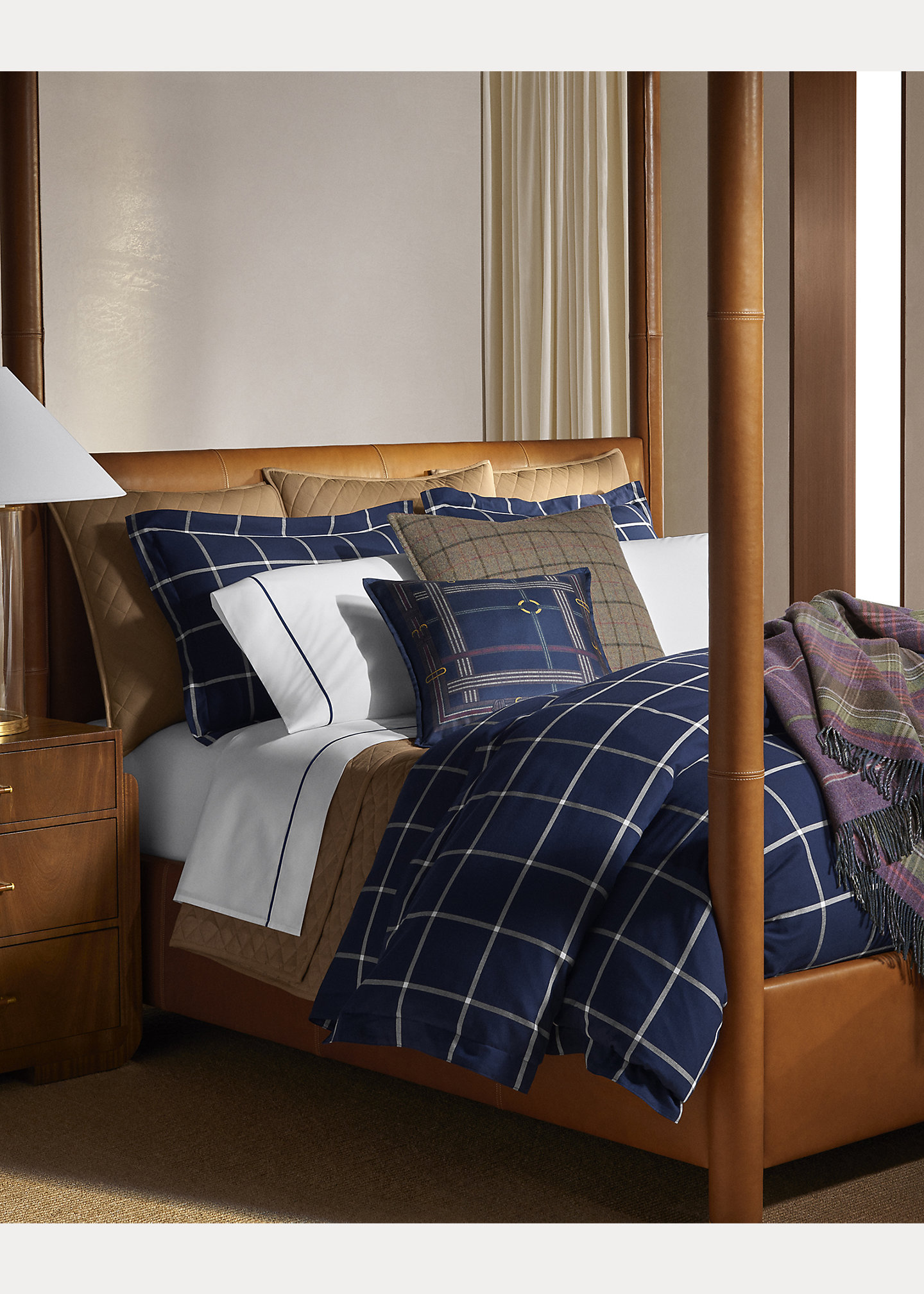 Ralph Lauren Home Modern Equestrian Bedding Collection