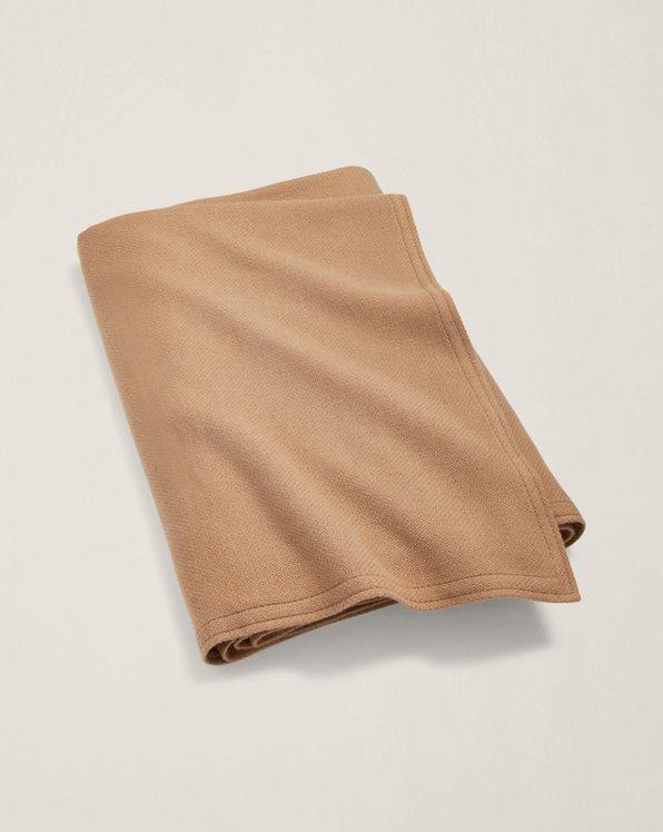 Rollins Camel-Hair Bed Blanket