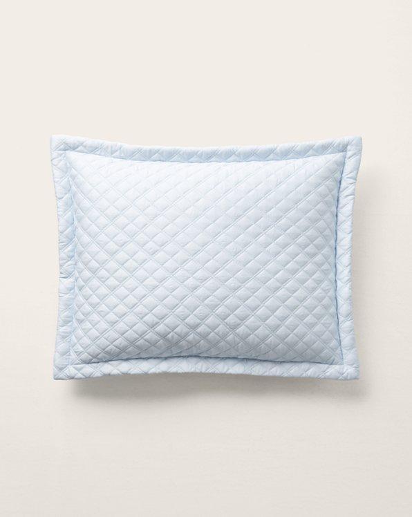 Argyle Sateen Throw Pillow