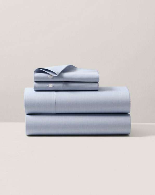 Organic Oxford Solid Sheeting