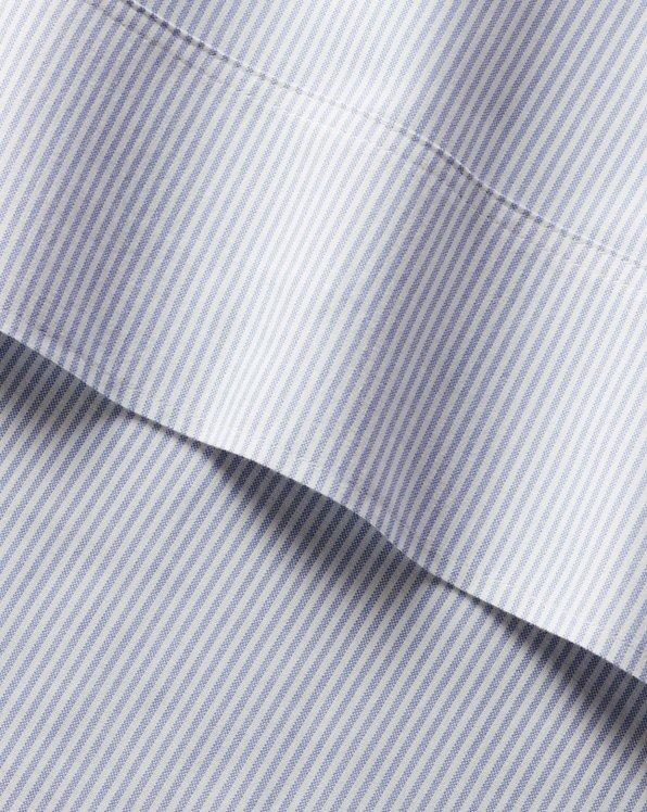 Organic Oxford Stripe Sheeting