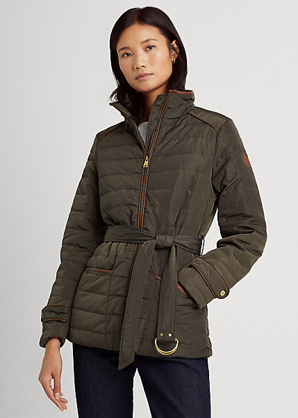 Polo RalphLauren Belted Quilted Jacket