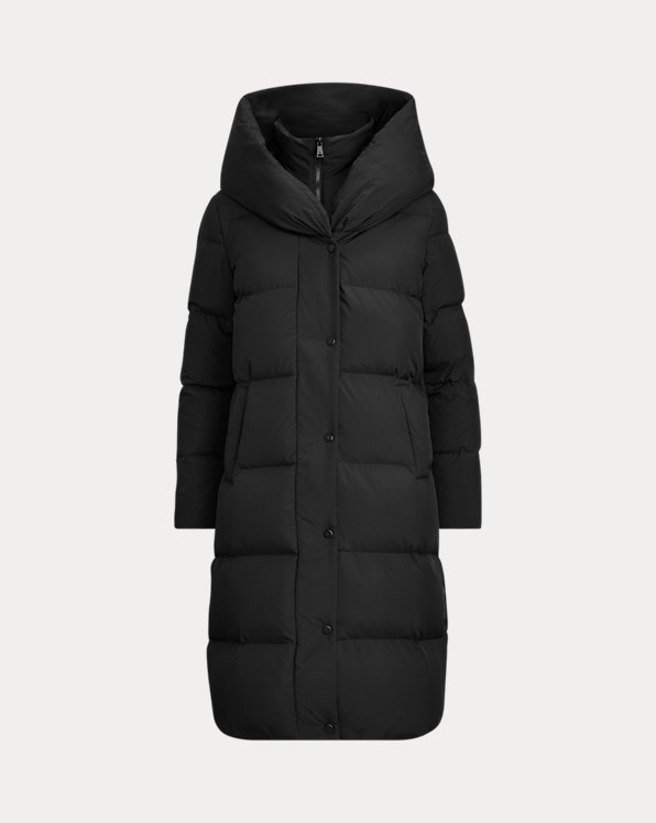 Oversize-Collar Down Coat