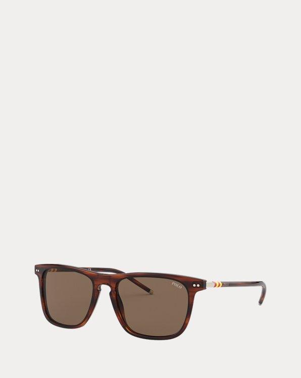 Striped Collegiate Sunglasses