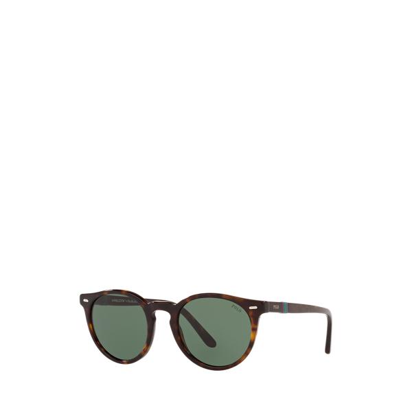 폴로 랄프로렌 '2021 윔블던 컬렉션' 선글라스 Polo Ralph Lauren Wimbledon Panto Sunglasses,Dark Havana