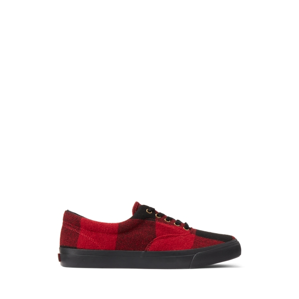 Polo Ralph Lauren Harpoon Buffalo Plaid Sneaker