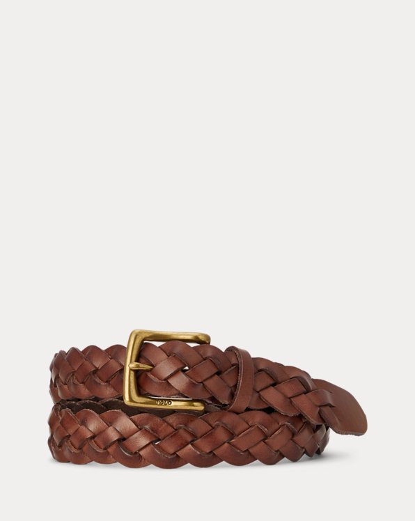 Braided Calfskin Belt