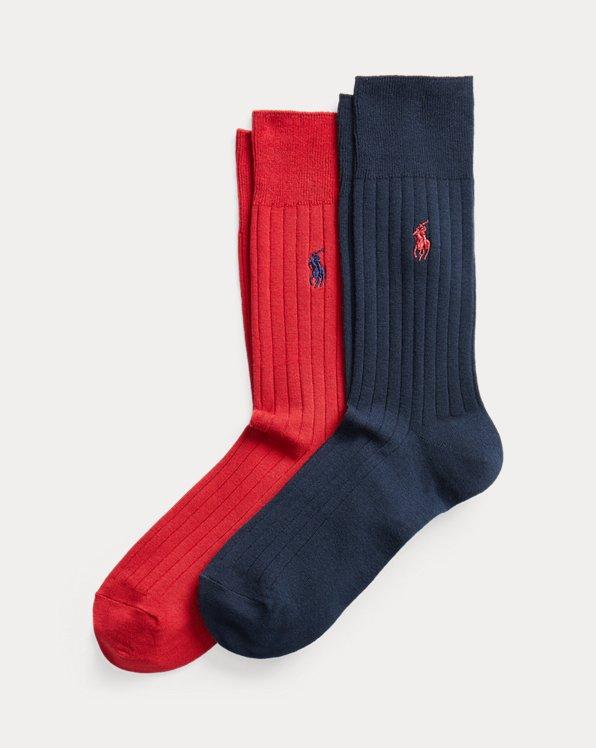 2 paires de chaussettes coton d'Égypte