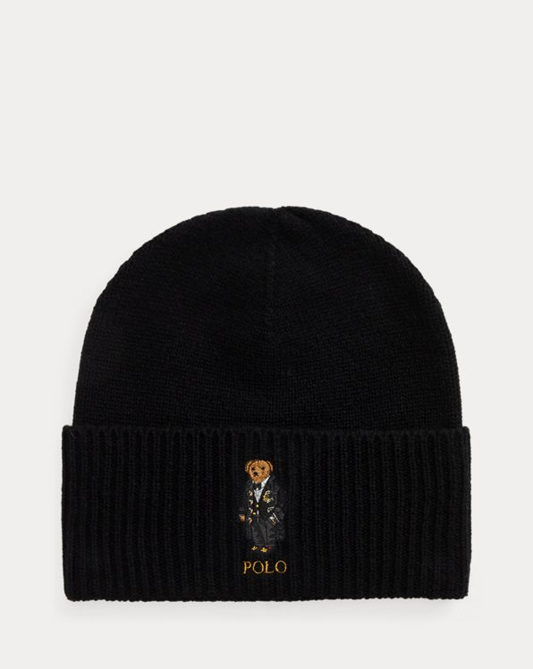 Polo Bear Wool-Cashmere Hat