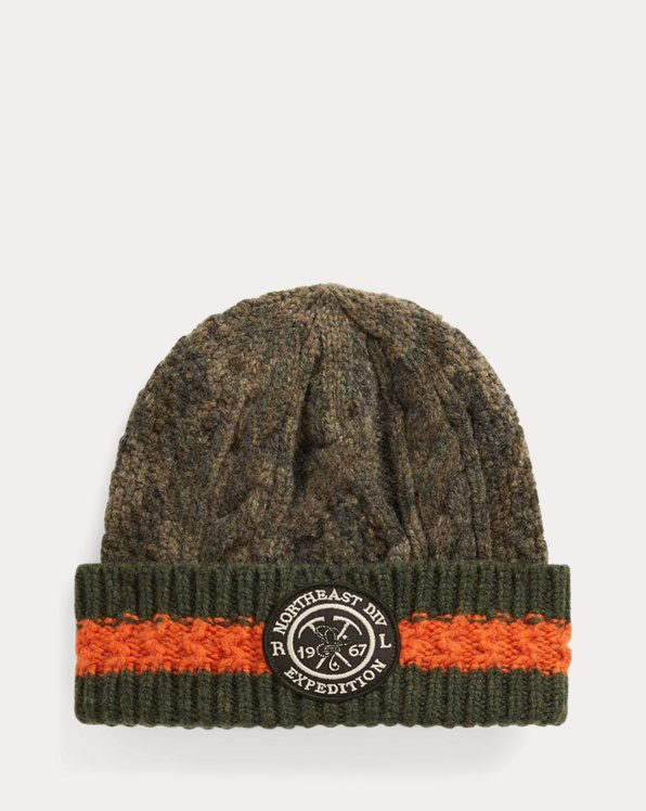 Wool Camouflage Hat