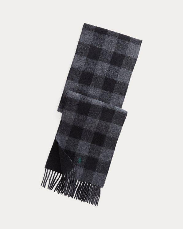 Wendbarer Schal mit Buffalo-Karo