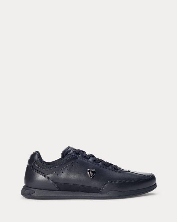 Sneaker Irvine in pelle