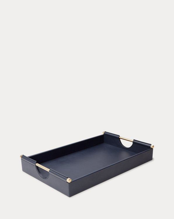 Claude Leather Tray
