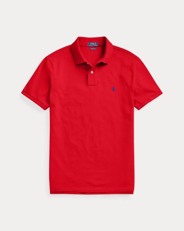 Custom-Slim-Fit Piqué-Polohemd