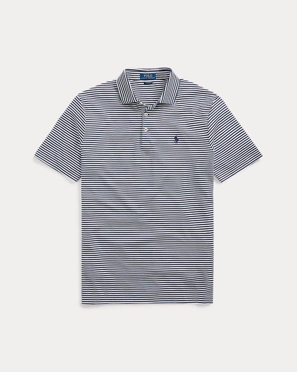 Custom-Slim-Fit Polo aus Baumwolle