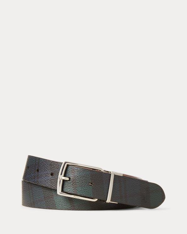 Reversible Tartan Belt