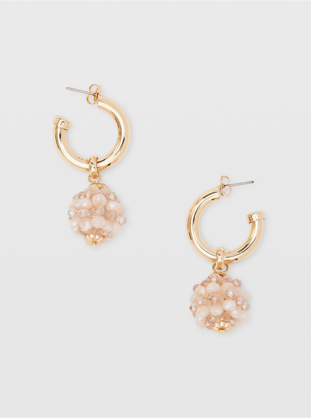 Bead Charm Earrings