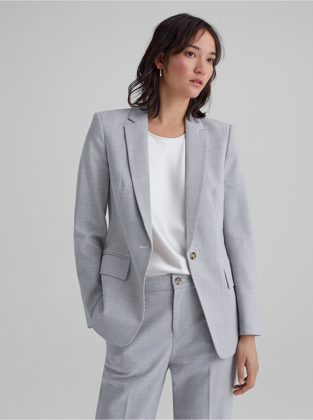 Borrem Checked Blazer