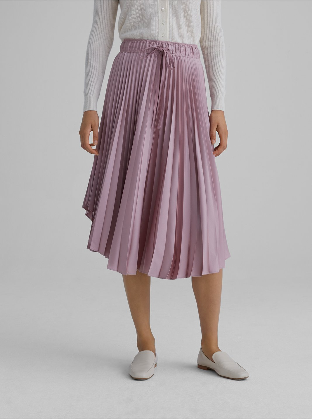 Elasticated Pleated Skirt