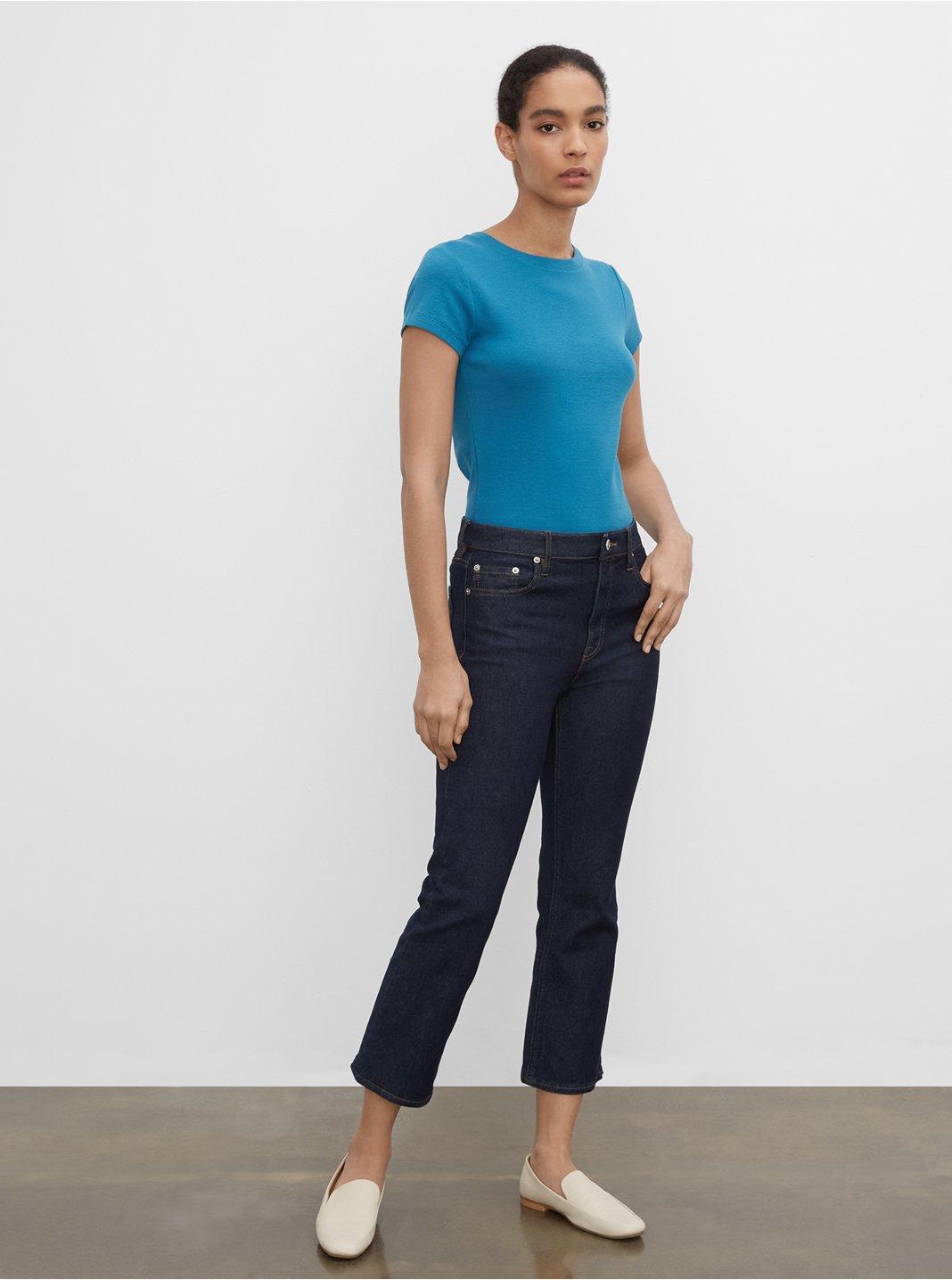 Kick Crop Jeans