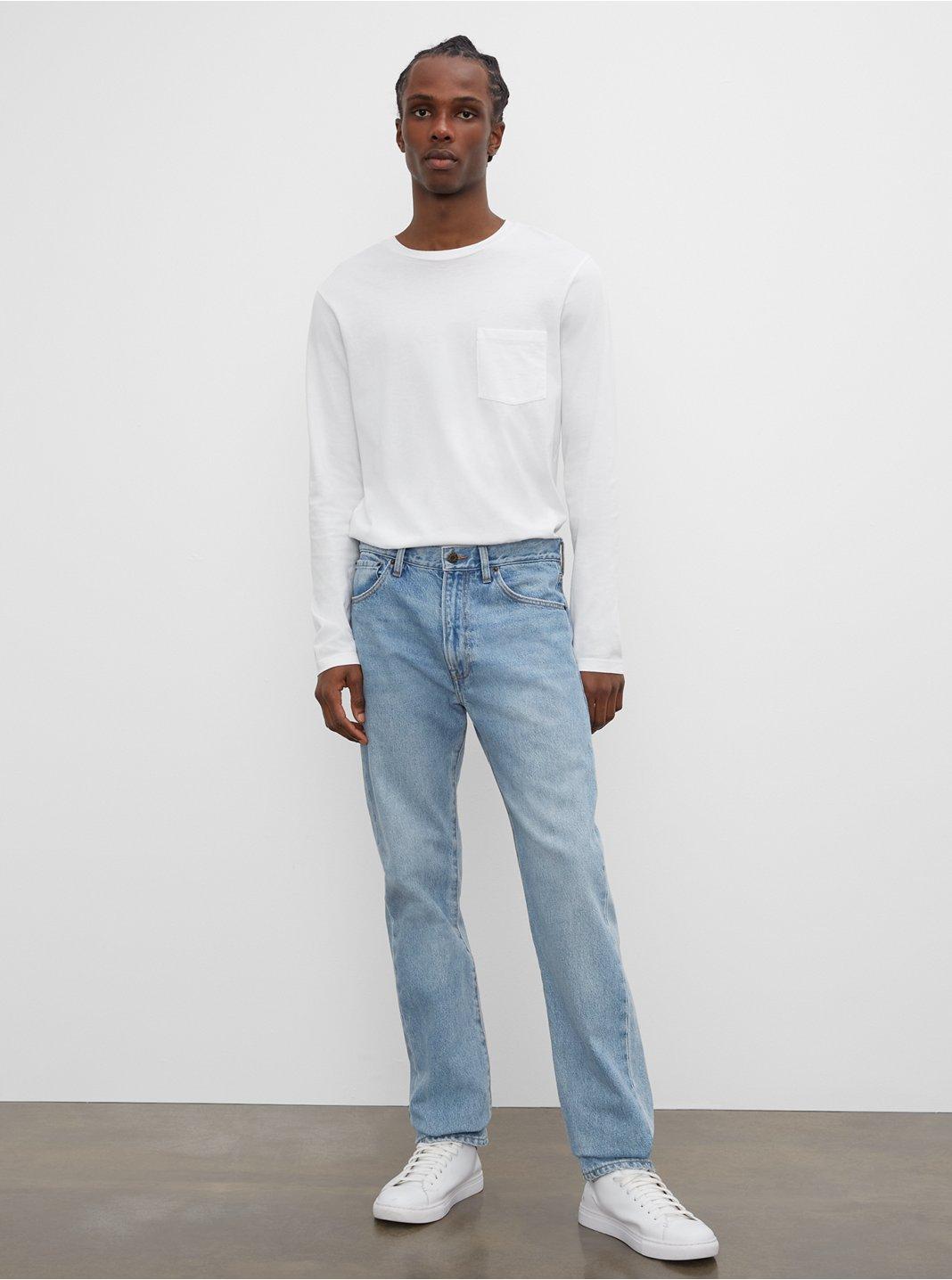 클럽 모나코 청바지 Club Monaco Straight Fit Jeans,Vintage Wash