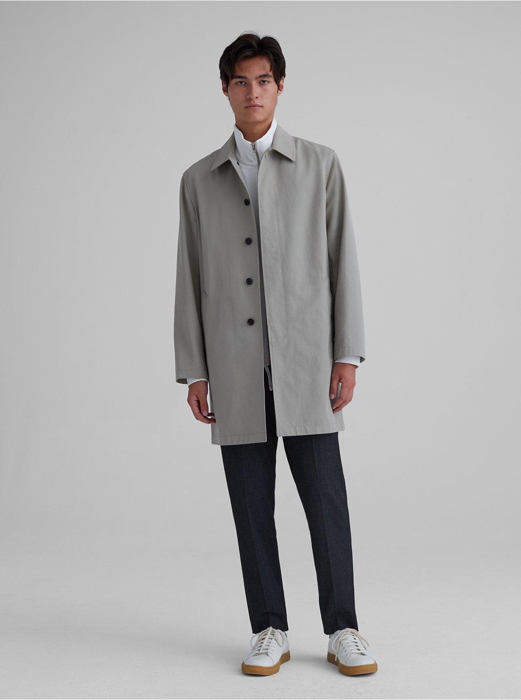 클럽 모나코 맨 맥 코트 - 세이지 Club Monaco Mac Coat