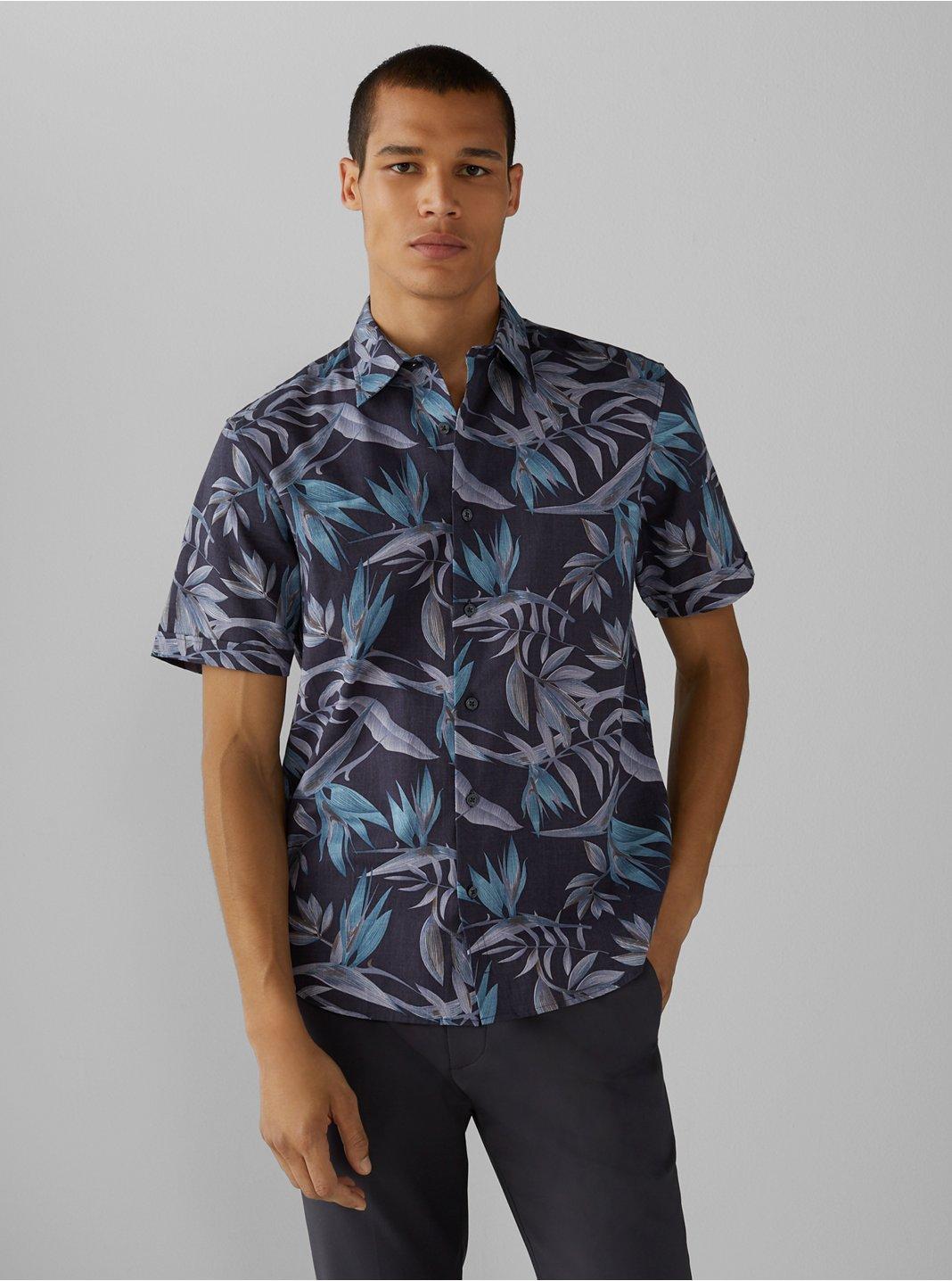 Short Sleeve Bird of Paradise Shirt