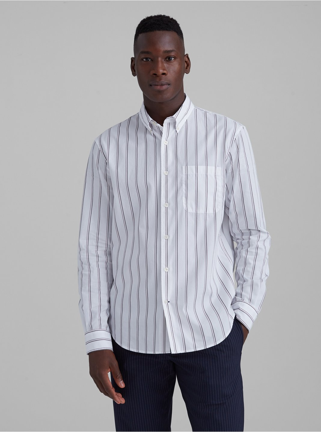 Thin Striped Shirt