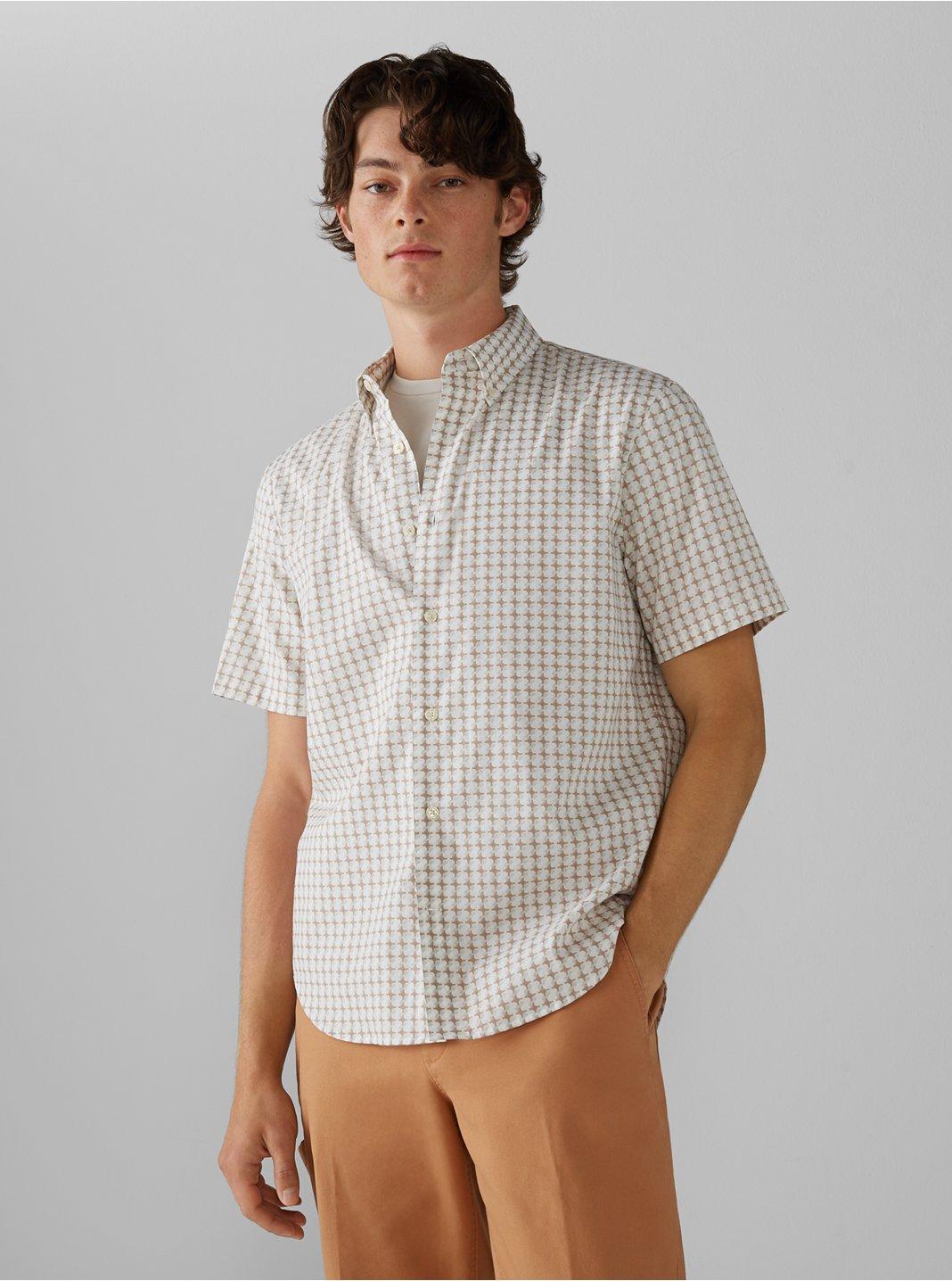 Short Sleeve Crisscross Shirt