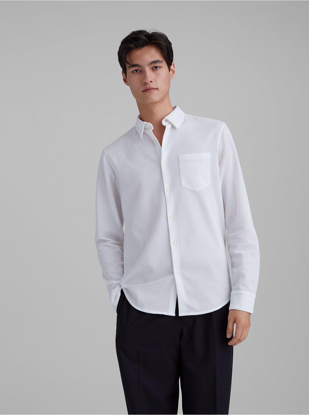 Pique Knit Shirt