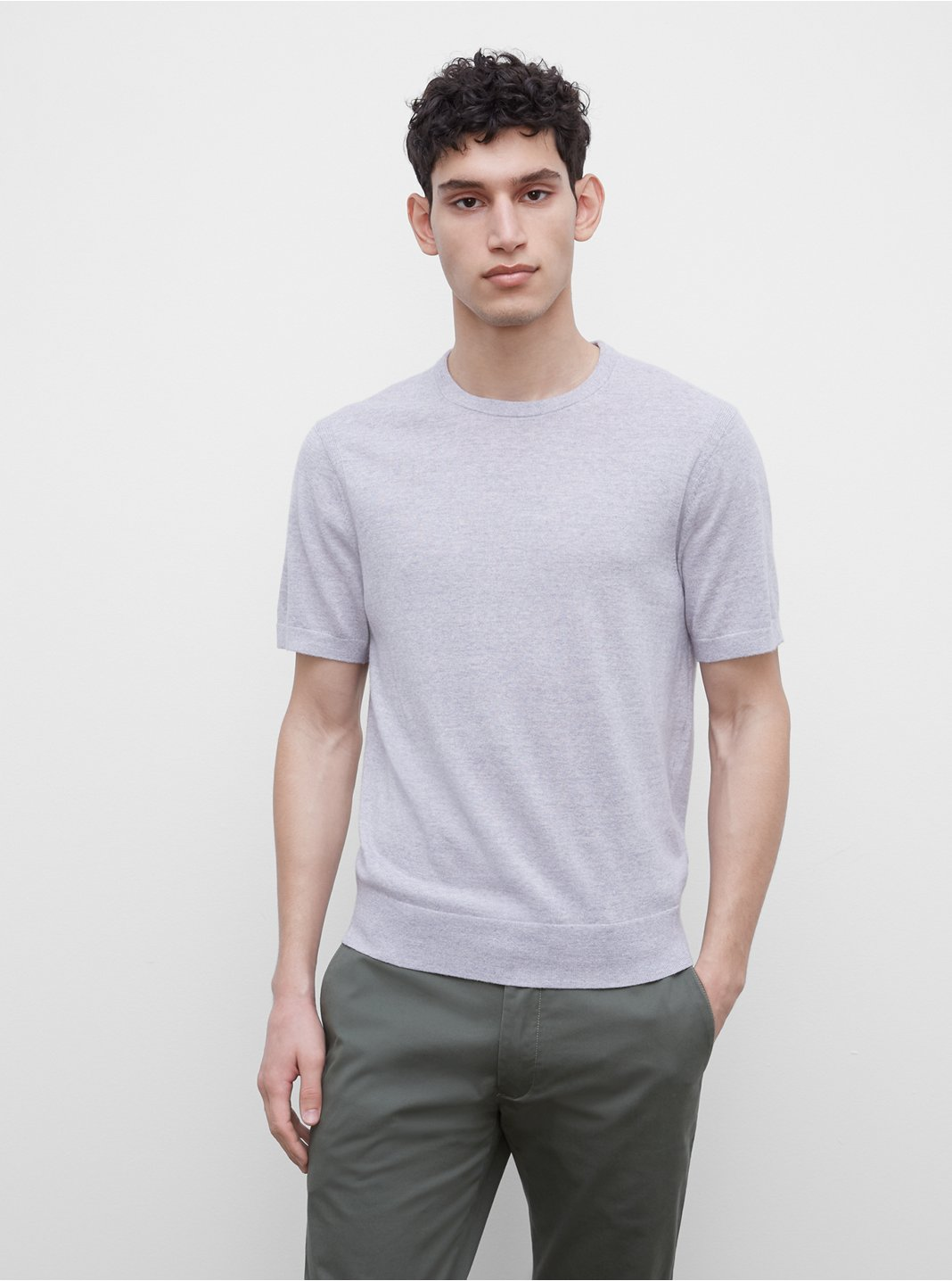 Short Sleeve Merino Sweater