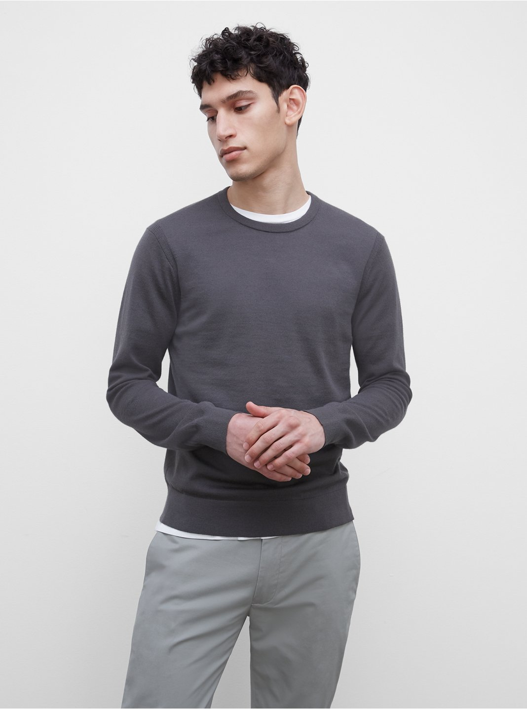 Long Sleeve Merino Sweater
