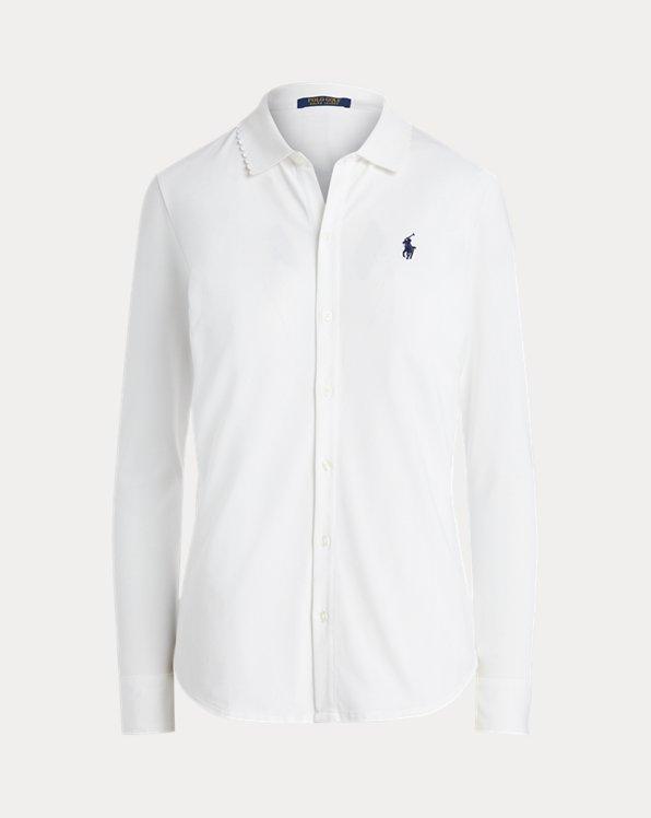 Mesh Oxford Golf Shirt