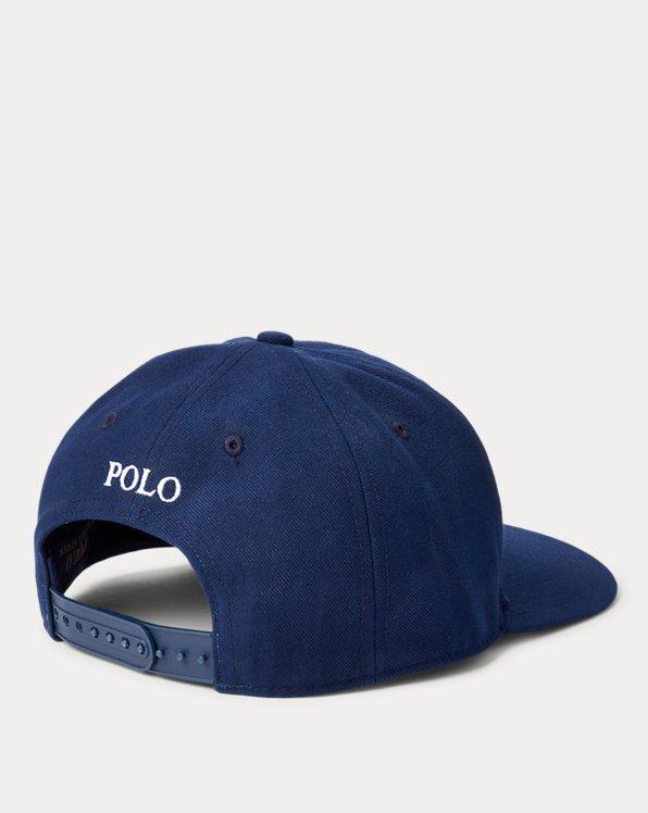 Twill High-Crown Ball Cap