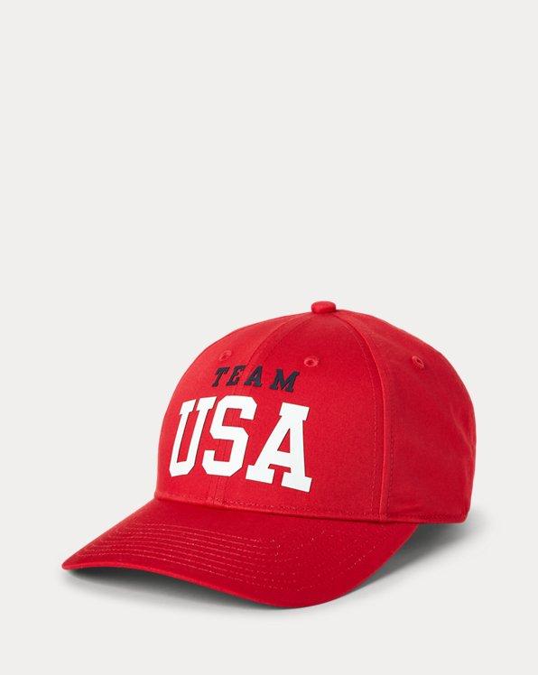 Team USA Twill Ball Cap