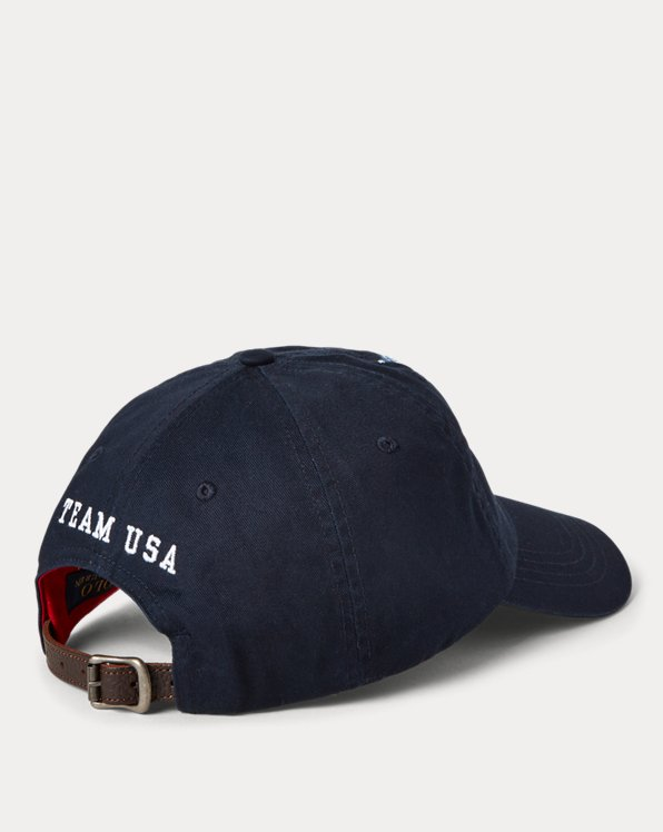 Team USA Polo Bear Chino Ball Cap