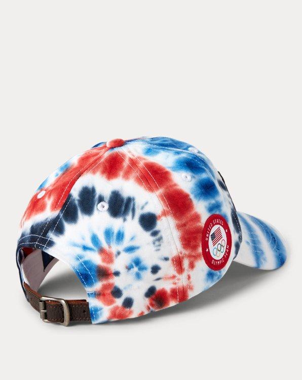Team USA Tie-Dye Chino Ball Cap
