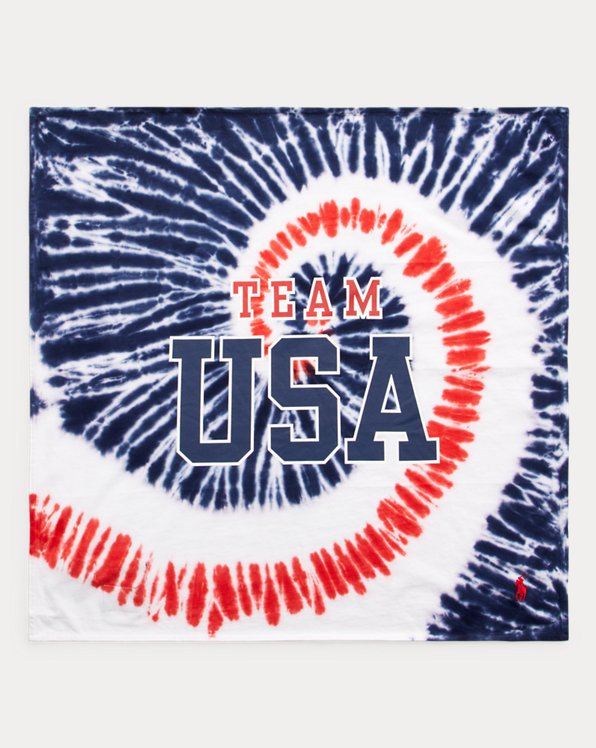 Team USA Tie-Dye Jersey Scarf
