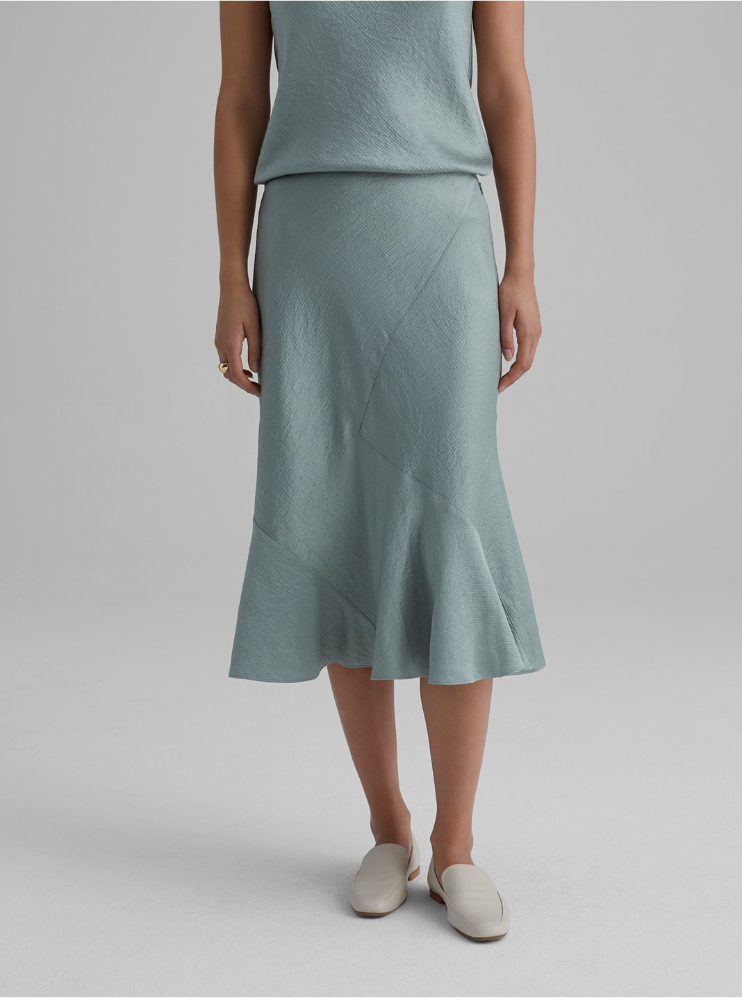 Textured Slip Skirt