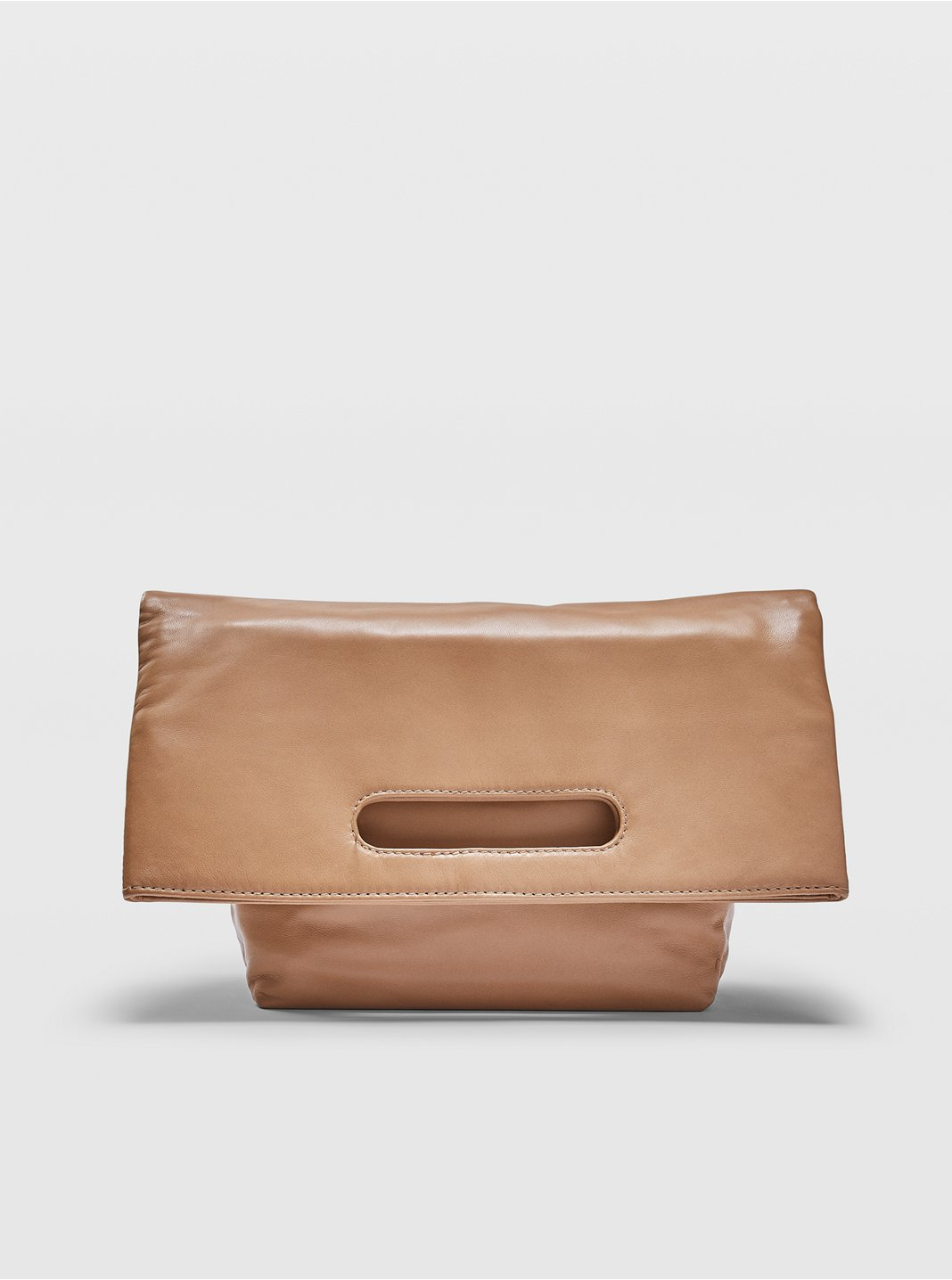 Foldable Leather Tote