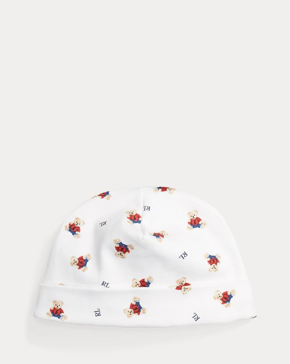 Bonnet Polo Bear en coton