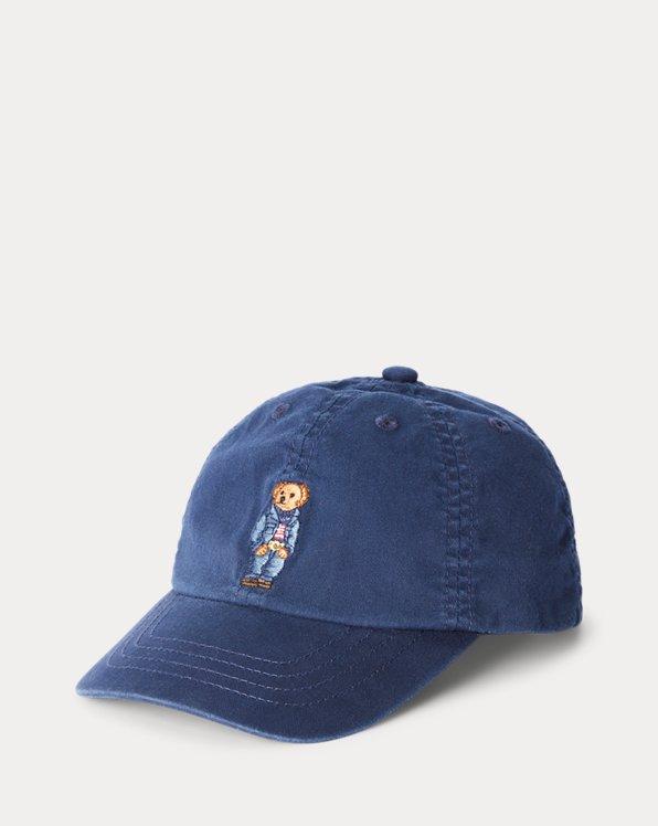 Denim Bear Baseball Cap