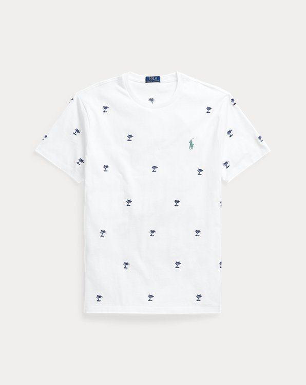 Custom Slim Palm Tree T-Shirt