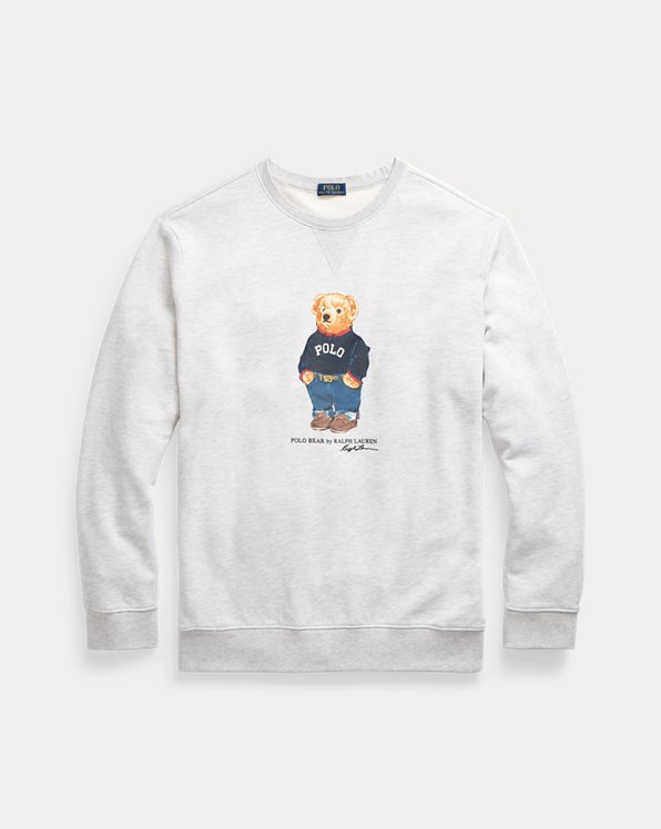 Jumper Bear Fleece Sweatshirt
