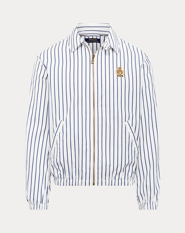Bayport Striped Poplin Jacket
