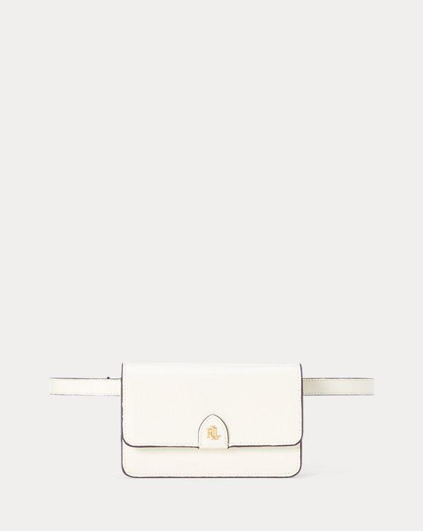 Saffiano Leather Belt Bag