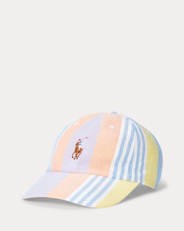 Colour-Blocked Oxford Cap