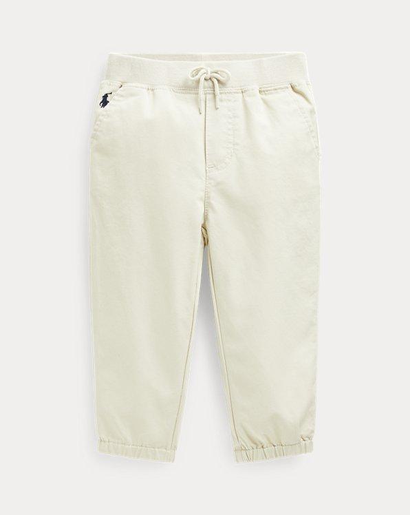 Cotton Twill Jogger Pant