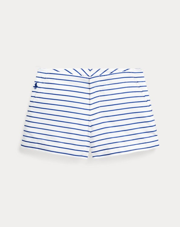폴로 랄프로렌 Polo Ralph Lauren Striped Cotton Poplin Short,Multi